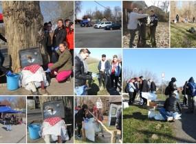 Környezetvédelmi nap egy tisztább Tiszáért, a gergelyiugornyai Tisza-parton