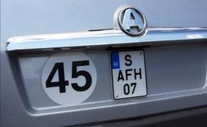 Új rendszámot vezetnének be Magyarországon