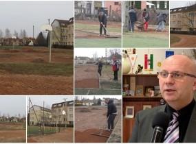 Filep Sándor ,,Megújul a városi műfüves grundpályája és környezete Vásárosnaményban