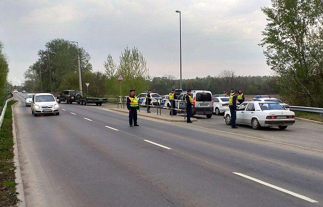 Rendőrségi razzia Vásárosnaményban 211 járművezetőt ellenőriztek a Bereg szívében