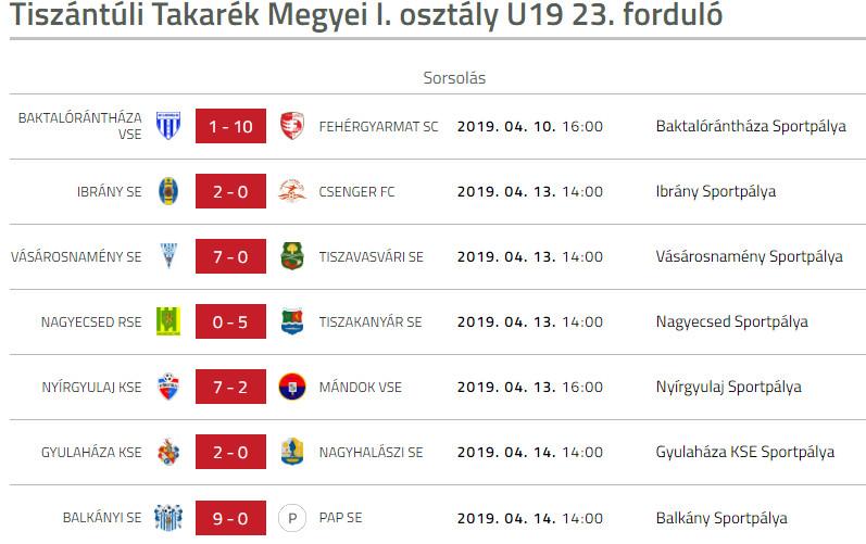 Vasarosnameny SE - Tiszavasvari SE u19 bajnoki labdarugo merkozes (4)