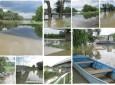 Újabb árhullám jön Hét és fél méternél tetőzött a Tisza folyó Vásárosnaménynál