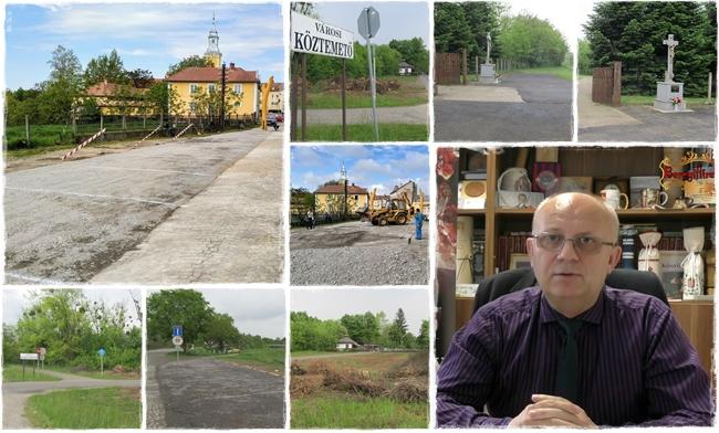 Nagyszabású parkolóbővítés és útfelújítás indul Vásárosnaményban és Gergelyiugornyán