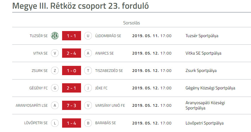 Vitka SE - Anarcs SE bajnoki labdarugo merkozes (2)