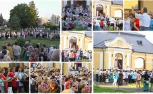 Magyarországon egyedülálló kórus flashmob, a vásárosnaményi Beregi Múzeum parkjában