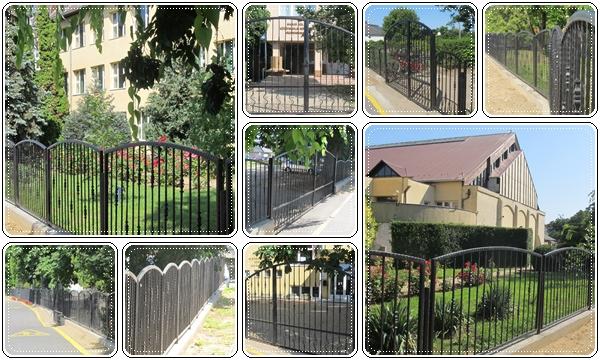 Tovább szépül a Bereg szíve - új kerítést kapott a vásárosnaményi gimnázium, kollégium és sportcsarnok