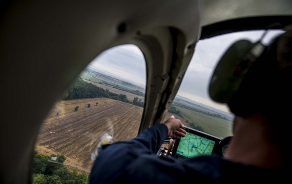 Indul a parlagfüves területek légi felderítése