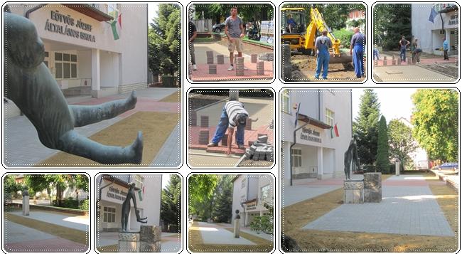terkovezett parkkal bovult a vasarosnamenyi eotvos jozsef altalanos iskola